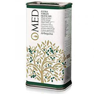 O-Med Arbequina Extra Virgin Olive Oil Tin 250 ml