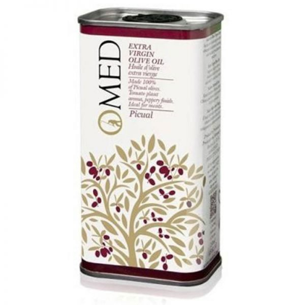 O-Med Picual Extra Virgin Olive Oil Tin 250 ml