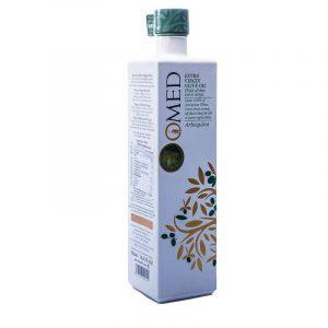 O-Med Arbequina Extra Virgin Olive Oil White Bottle 500 ml