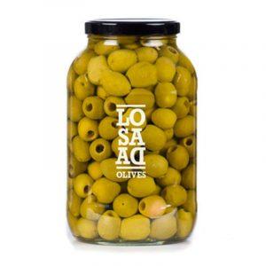 Losada Pitted Gordal Olives 1 gal