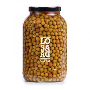 Losada Natural Arbequina Olives 1 gal