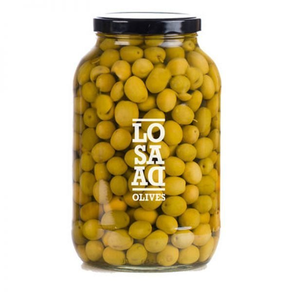Losada Manzanilla Olives Plain 1 gal