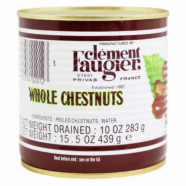Clement Chestnuts Cooked Vacuum Concept Fruit Jar 12x14 oz