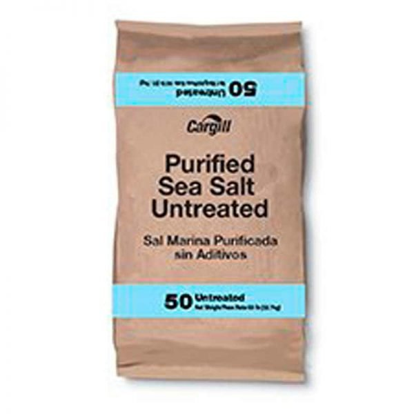 Cargill Sea Salt Purified 50 lb 7584