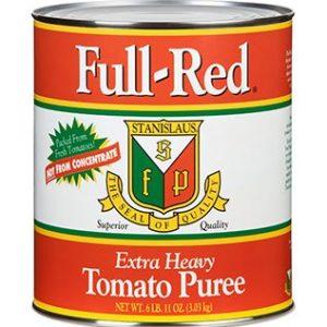 Full Red Tomato Puree 6x#10