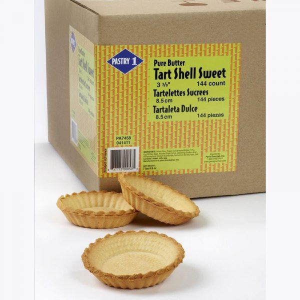 """Tartlett Shells Sweet 3 3/8"""" 144 ct"""