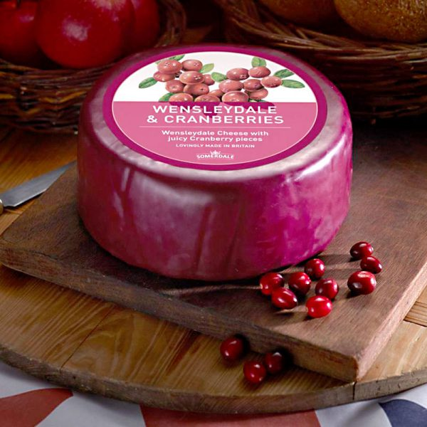 Wensleydale with Cranberries 5 lb